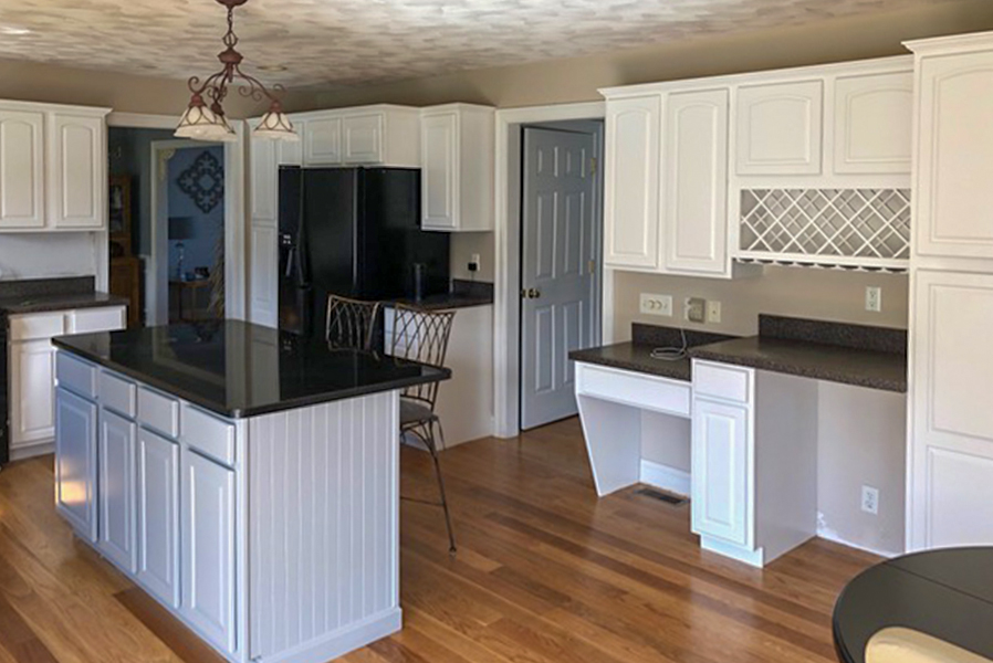 Castle Complements Painting Kitchen Cabinets10_900