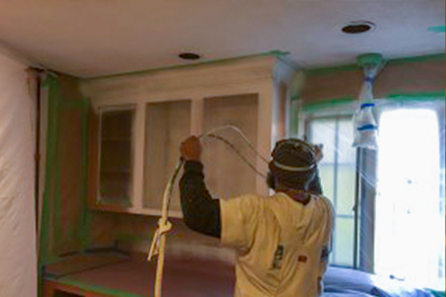 Castle Complements Painting Kitchen Cabinets2_900