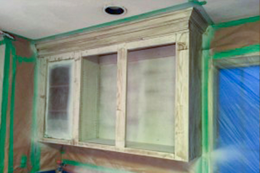 Castle Complements Painting Kitchen Cabinets3_900
