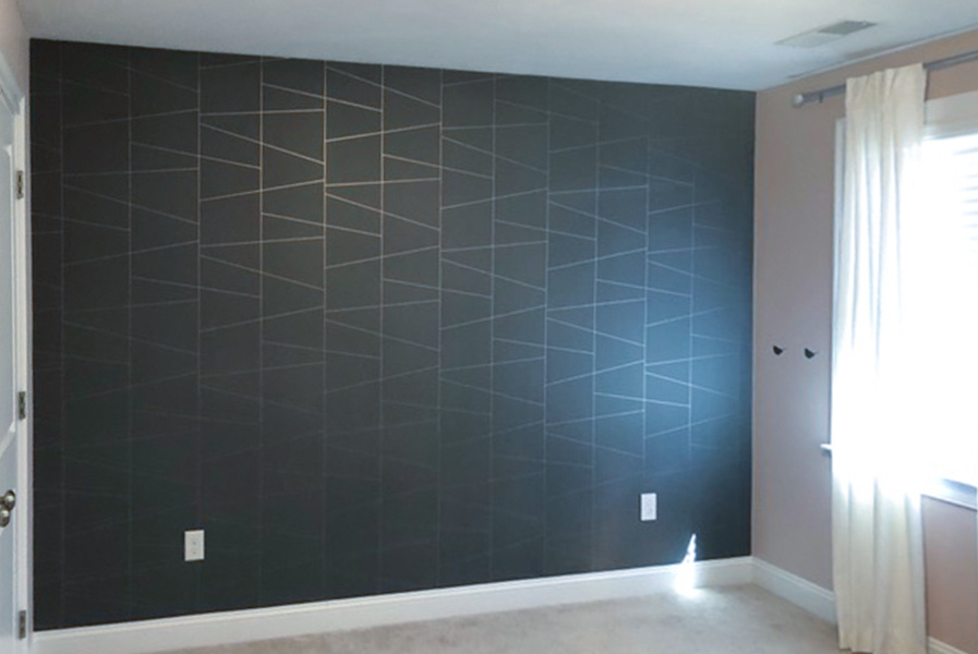 Castle Complements Painting Wallpaper Installation 6900
