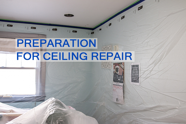 Castle Complements Painting Peeling Ceiling Paint Preparation for Ceiling Repairs_IMG_9694b