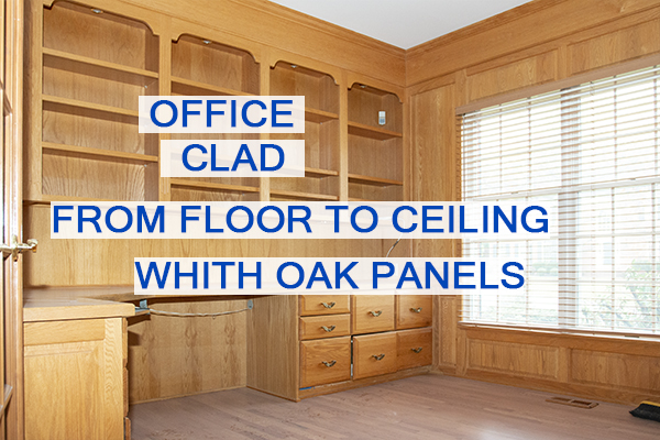 Castle Complements Painting Stain Wood Clad from Floor to Ceiling Oak Panels_IMGb_9317