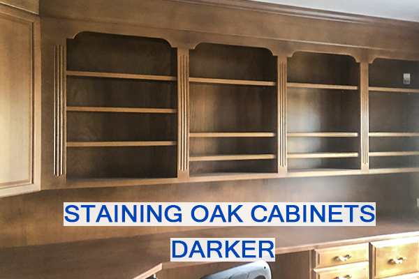 Castle Complements Painting Stain Wood Darker Oak Cabinets_IMGb_3254b