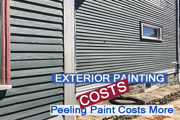2222- Castle Complements Painting Exterior Painting Peeling Costs More