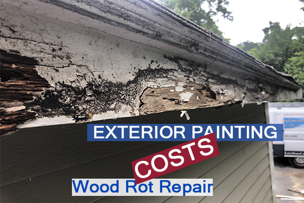 2308- Castle Complements Painting Exterior Painting Wood Rot Repair