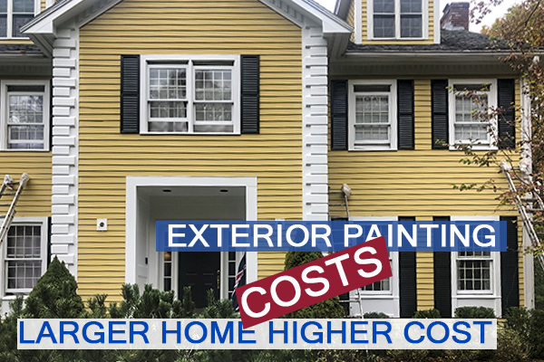 2803- Castle Complements Painting Exterior Painting Larger Home Higher Cost